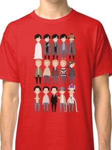 johns and sherlocks and moriarties Classic T-Shirt