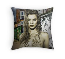 KATE MOSS Throw Pillow