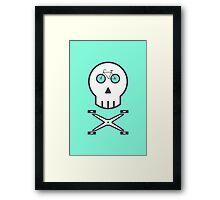 Rider Skull Framed Print