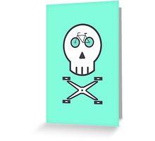 Rider Skull Greeting Card