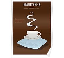 Reality Check Poster