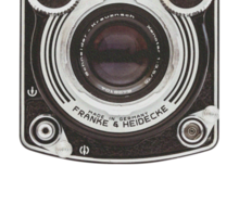 Vintage Camera II Sticker