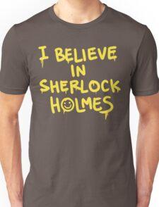 Believe in Sherlock Unisex T-Shirt