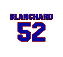 National football player Blanchard Montgomery jersey 52 Photographic Print