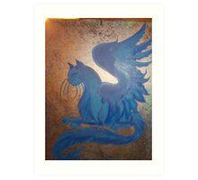 Golden Sphinx Art Print