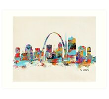 saint louis missouri Art Print