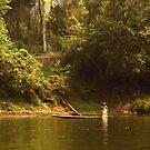 down the river  by Amagoia  Akarregi