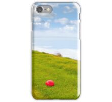 red stone on the Ballybunion links golf course iPhone Case/Skin