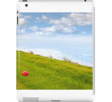 red stone on the Ballybunion links golf course iPad Case/Skin