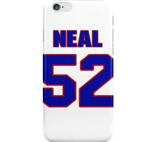 National football player Neal Olkewicz jersey 52 iPhone Case/Skin