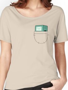 BMO Pocket - Adventure Time Women's Relaxed Fit T-Shirt