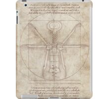 Da Vinci's Real Screw Invention iPad Case/Skin