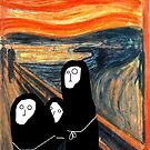 Part 12.5 The Scream by the 3 Munchs by evilfroot