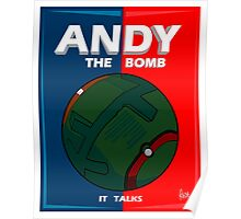 Andy The Bomb Poster