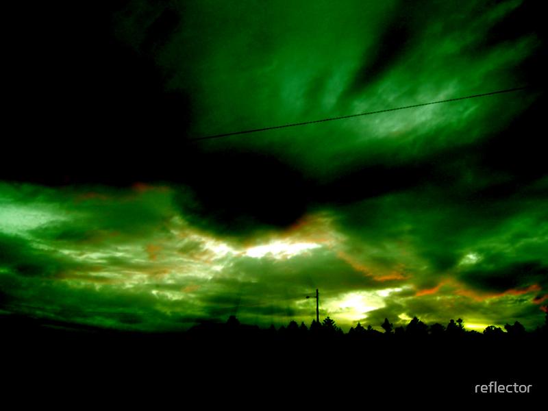 Alien Invasion by reflector