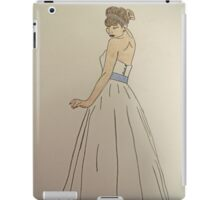 Wedding Dress No 1 iPad Case/Skin