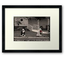 Bad Start Framed Print