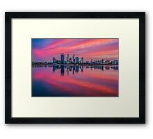 Good Morning, Perth - Western Australia Framed Print