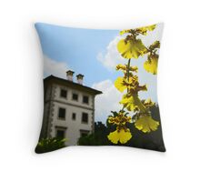 Old Picture Postcard Throw Pillow