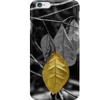 OneYellow Leaf iPhone Case/Skin