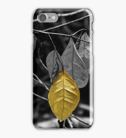 OneYellow Leaf iPhone Case/Skin