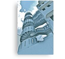 Singapore stair Canvas Print