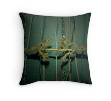 Ornamented Tension Throw Pillow