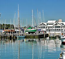 Williamstown Reflections by Steven  Agius