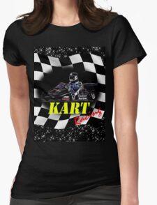 Kart Racer Womens Fitted T-Shirt
