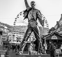 Freddie Mercury Statue  by Marsstation
