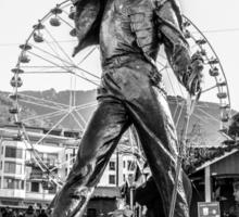 Freddie Mercury Statue  Sticker