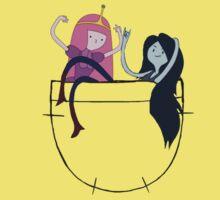 Bubbline Pocket Pals - Adventure Time Kids Tee