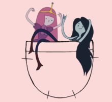 Bubbline Pocket Pals - Adventure Time Baby Tee