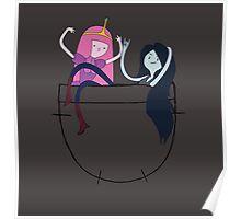 Bubbline Pocket Pals - Adventure Time Poster