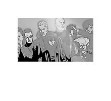 Ghost in the Shell Crew - Engraved Style Photographic Print