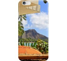 A View of Diamond Head iPhone Case/Skin