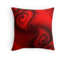 Love twine in warmth Throw Pillow