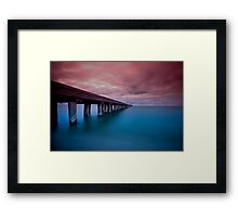 Suppress  Framed Print