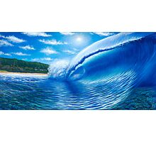 Pipeline, Hawaii  The Dream Tour Series Photographic Print