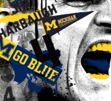 Jim Harbaugh Michigan  Sticker