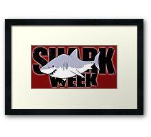 #SHARK  Framed Print