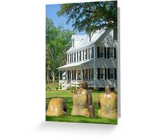 On the Plantation Greeting Card