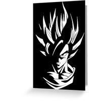 Kakarot Into Light Greeting Card