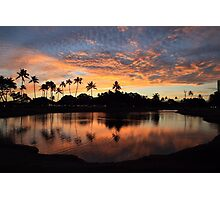 Ala Moana Sunset Photographic Print