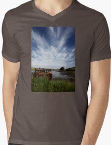 A Bit Rusty Mens V-Neck T-Shirt