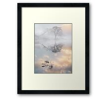 Loughrigg Winter Mist Framed Print