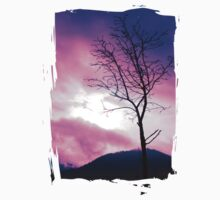 Into the Pink & Purple Sky - JUSTART © Kids Clothes