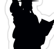 Drunk Liberty Sticker