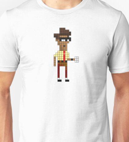 IT Crowd - Moss - Pixel Art Unisex T-Shirt