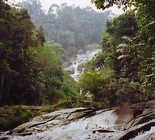 Waterfall Malaysia by Gregory John O'Flaherty